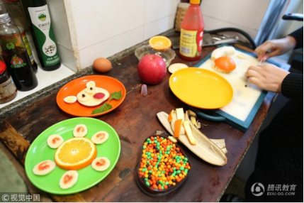为让儿子不厌食_妈妈每天做不重样创意早餐