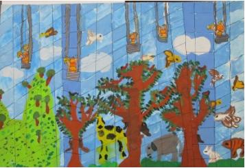 """""""第十届花王国际儿童环境绘画大赛""""评审结果公布~2019年环保产品展览会花王展区举行颁奖仪式~"""
