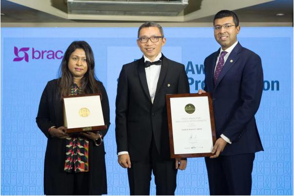 一丹奖创办人陈一丹赴孟加拉国_颁授2019年一丹教育发展奖